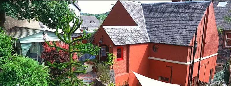 The Cottage is in the heart of Aberfoyle