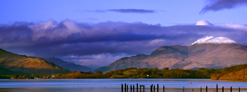 Ben Lomond from Balloch in Spring
