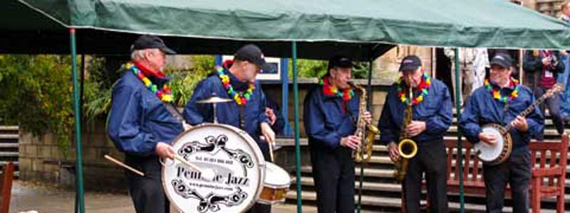 The annual Callander Jazz Festival